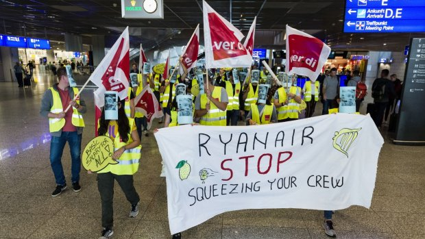 Grote staking bij Ryanair: ook Nederlandse piloten doen mee