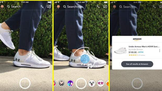 Snapchat wil je laten kopen door naar een product te kijken