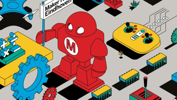 Dit weekend lekker bouwen op Eindhoven Maker Faire