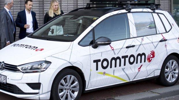 Noodlijdend TomTom wil deel zakelijke tak verkopen