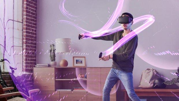 Oculus komt in 2019 met zelfstandige VR-bril met controllers
