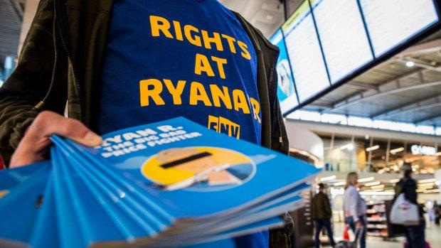 Eindhovense medewerkers Ryanair eisen schadevergoeding
