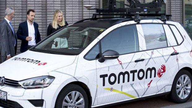 TomTom verbetert plannen routes met elektrische auto's