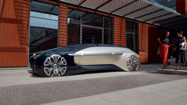 Renault toont luxe zelfrijdende conceptauto