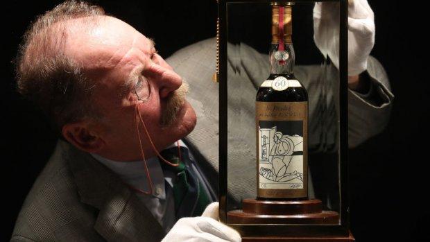 Dit is de duurste whisky ooit: bijna één miljoen euro