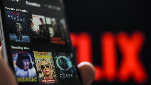 Omzet mobiele apps Netflix stijgt 90 procent