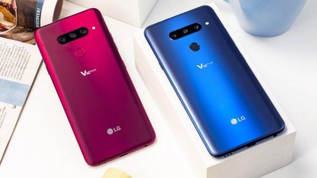 LG-smartphone V40 ThinQ vanaf februari te koop in Nederland
