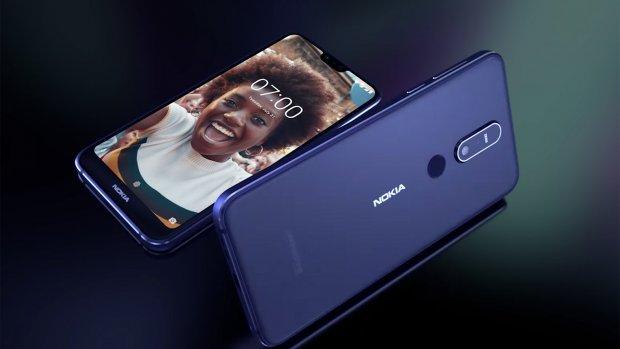 Nieuw Nokia-toestel met notch en dubbele camera