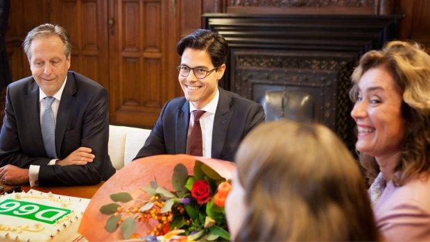 Rob Jetten (31) volgt Pechtold op als D66-fractievoorzitter