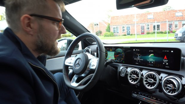 Getest: de tech in de Mercedes A200