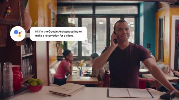 Google brengt telefoonbot die reserveringen maakt uit