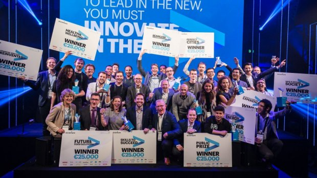 Welke start-ups wonnen de Accenture Innovation Awards?