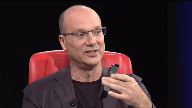 'Google verzweeg seksincident topman Andy Rubin'