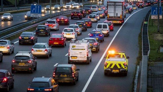Drukste avondspits van het jaar: 'Kneiterdruk op de snelweg'