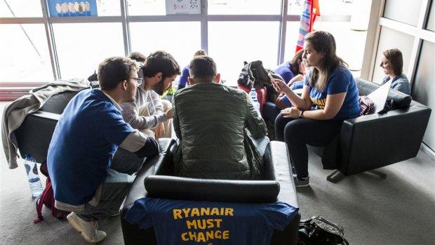 Piloten naar de rechter om sluiting basis Ryanair in Eindhoven