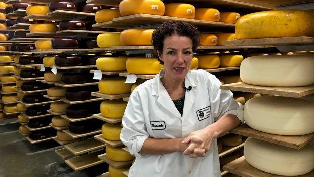 De droom van kaasboerin Marieke: heel Amerika aan de Goudse kaas
