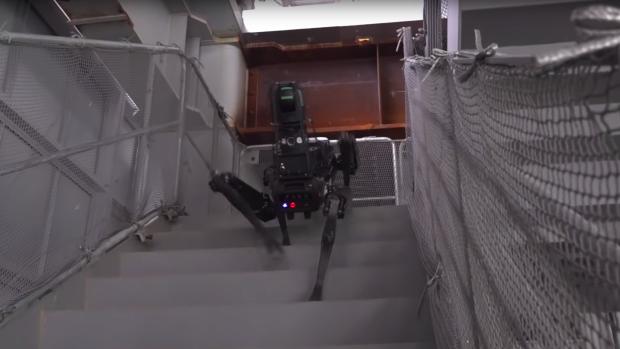 Deze robot werkt als bouwinspecteur