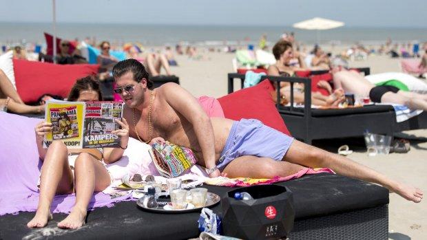 Strandtenten hebben topjaar: beste zomer ooit
