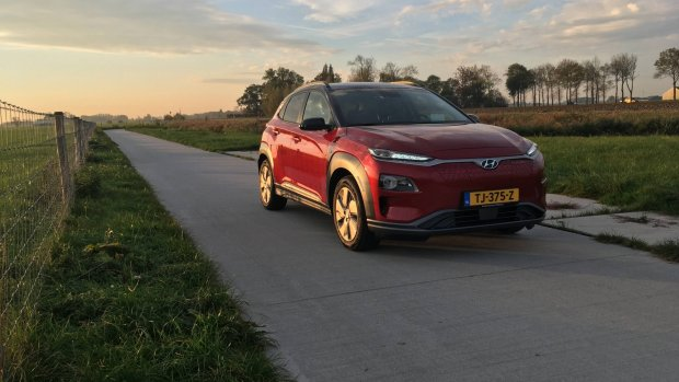 Duurtest elektrische Hyundai Kona: de doorbraak