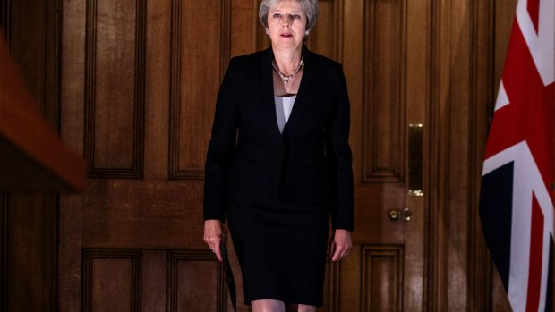 BBC: positie May op het spel door diepe verdeeldheid in partij