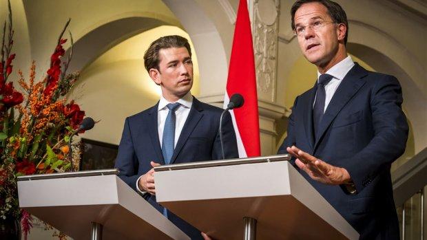 Rutte en Kurz: niet opgeven tot brexit-deal