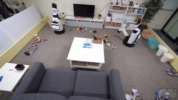 Deze robots ruimen je rommel op