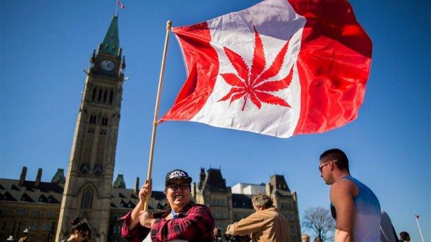 'Historische dag' in Canada: wiet legaal te koop