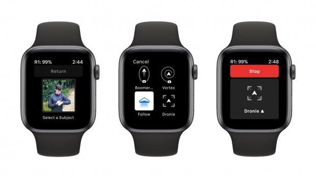 Autonome drone nu te besturen met Apple Watch
