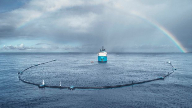 Plasticvanger klaar voor grote opruimactie in oceaan