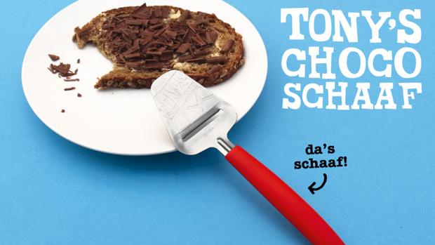 Doe-het-zelfvlokken: Tony's Chocolonely komt met chocoschaaf