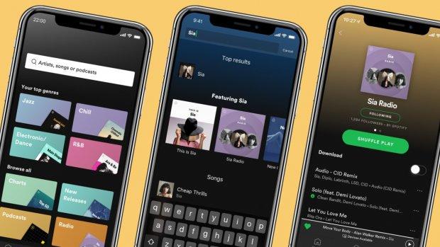 Spotify geeft betalende leden extra functies