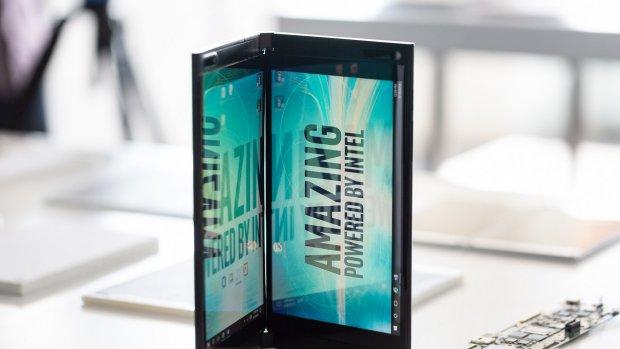 Intel werkt aan apparaten met twee schermen
