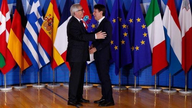 Begrotingsoorlog Italië - EU   Cijfers Philips
