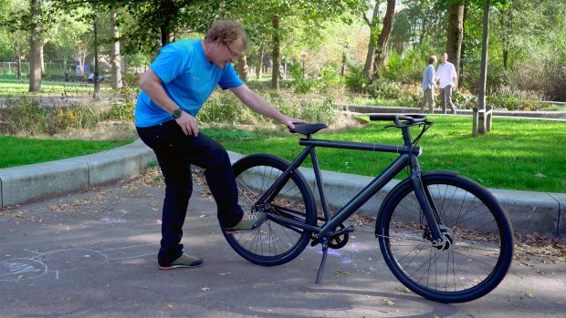 Getest: het 'schopslot' van de nieuwe e-bike van VanMoof