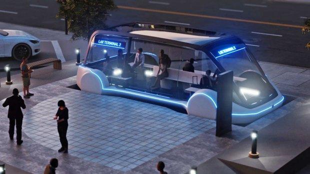 Tunnelsysteem SpaceX vervoert in december eerste mensen
