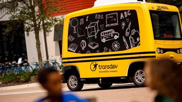 Toezichthouder VS haalt zelfrijdende schoolbus van de weg