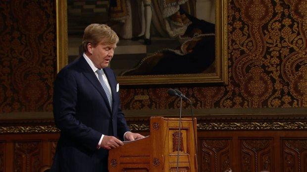 Koning over brexit: 'Het doet ons oprecht verdriet'