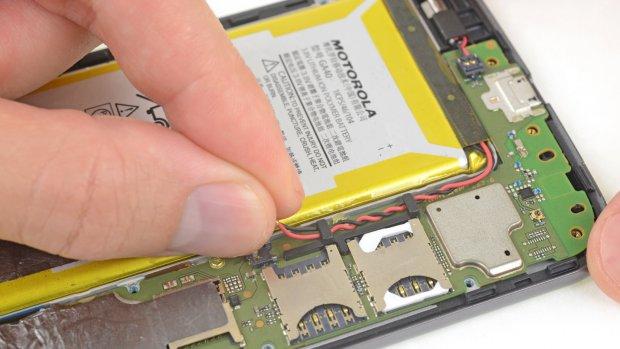 Motorola verkoopt reparatiesetjes voor smartphones