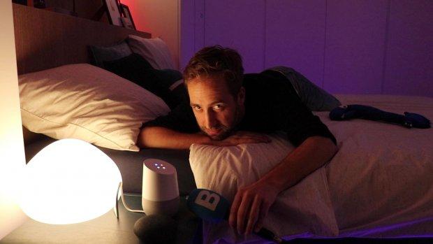 Google Assistant wordt stiller bij uitdoen van slimme lampen