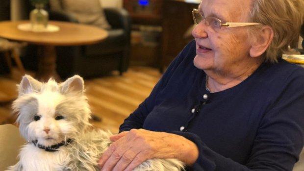Robotpoes helpt ouderen met dementie
