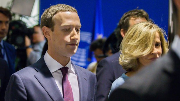 'Recordboete voor Facebook om privacy-inbreuken'