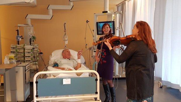 Stilte op de intensive care: 'Wat er gebeurt als de muziek begint, is heel bijzonder'