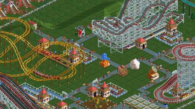 Rollercoaster Tycoon in november op Nintendo Switch
