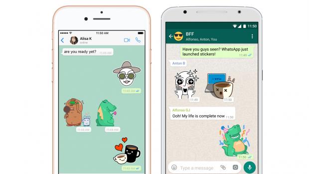 WhatsApp voegt stickers toe