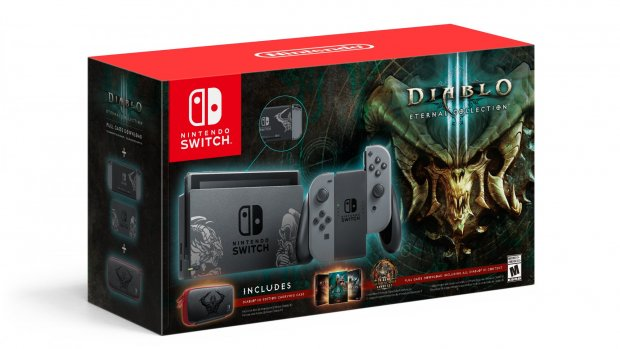 Win deze limited Diablo III Nintendo Switch-bundel