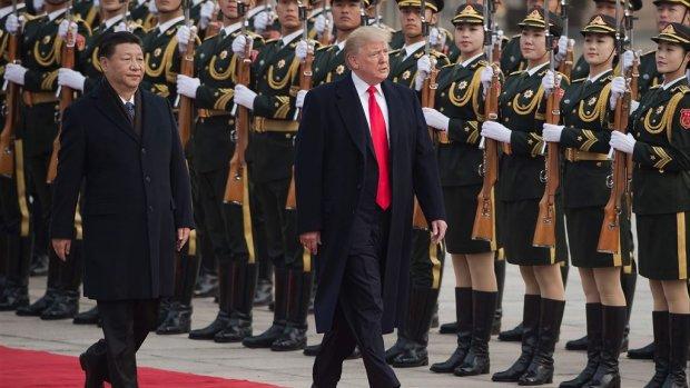 'Amerikanen werken aan handelsdeal met China'