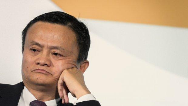 Techreus Alibaba stelt groei naar beneden bij