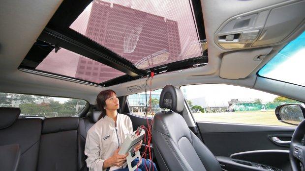 Hyundai en Kia voorzien auto's van zonnepanelen