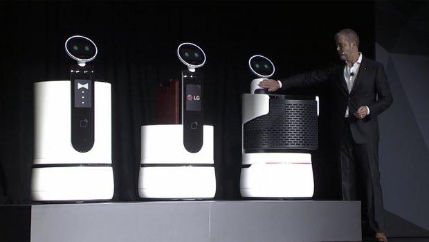 LG brengt zelfrijdende winkelwagens naar supermarkten
