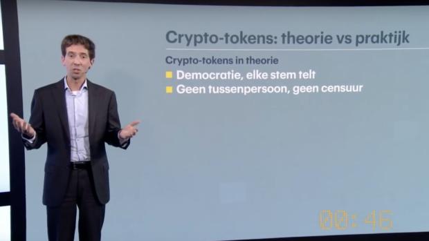 Pitch: Wees voorzichtig met crypto-tokens